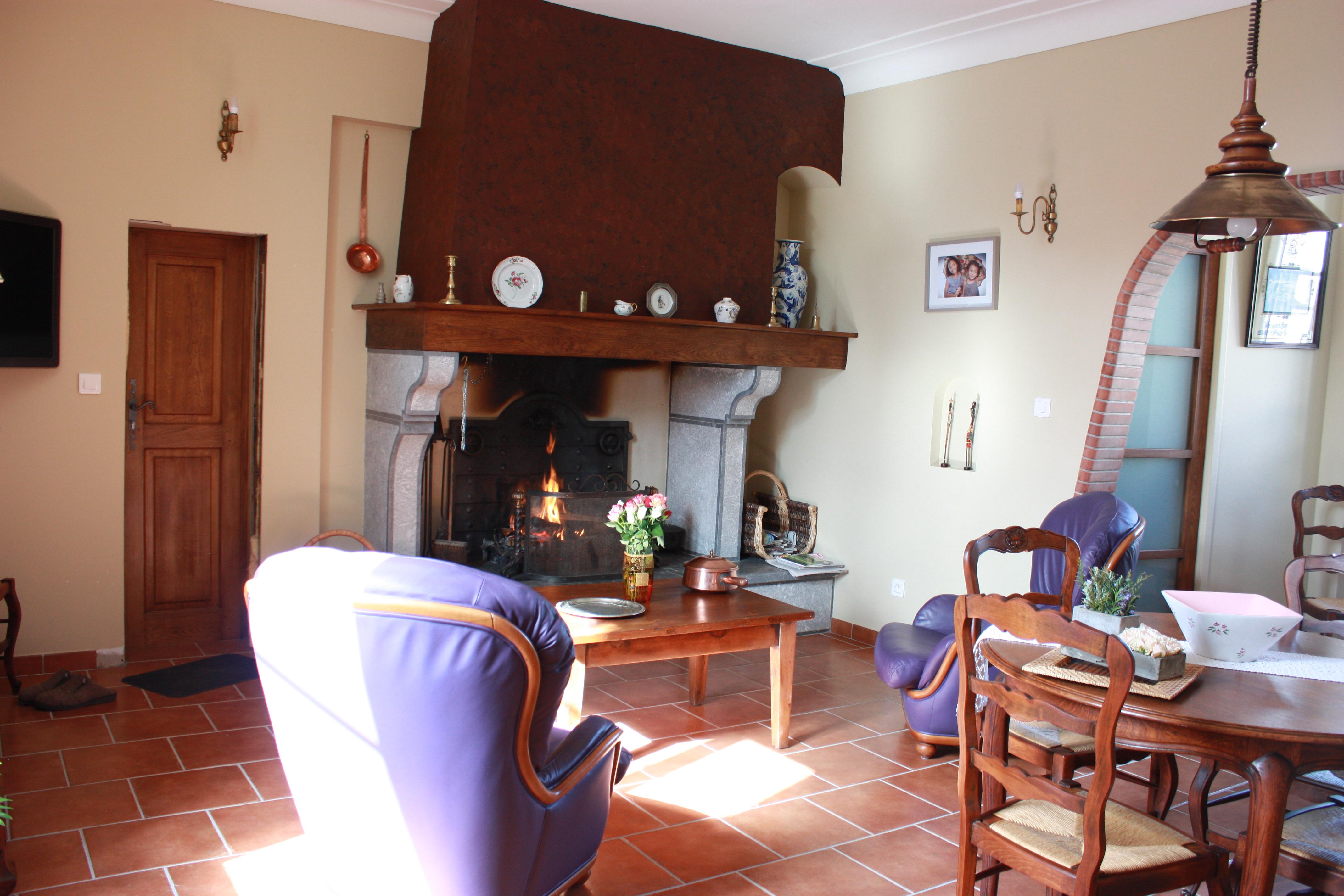 Interieur maison de campagne le clos du carme une maison for Interieur de maison de campagne