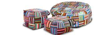 pouf Ashanti design Cape Town