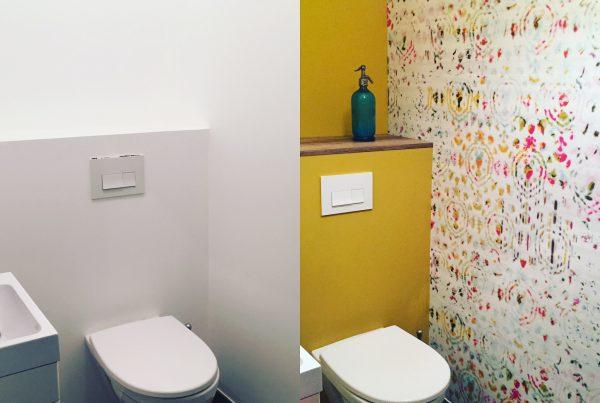 Des toilettes chics et déco