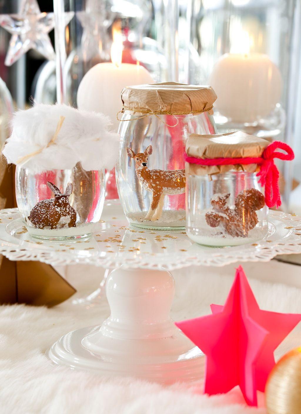 Ma table de no l s 39 invite la f te oh mon int rieur for Decoration de noel pour table
