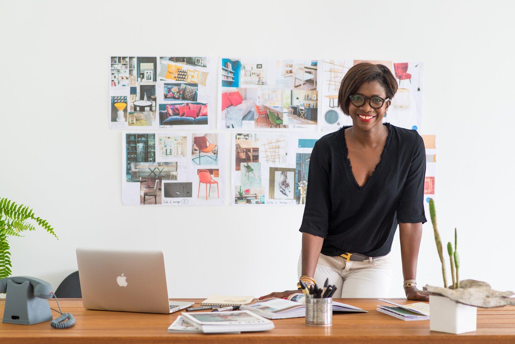 Photo presentation Sandra, designer d'intérieur Tarbes et Pau