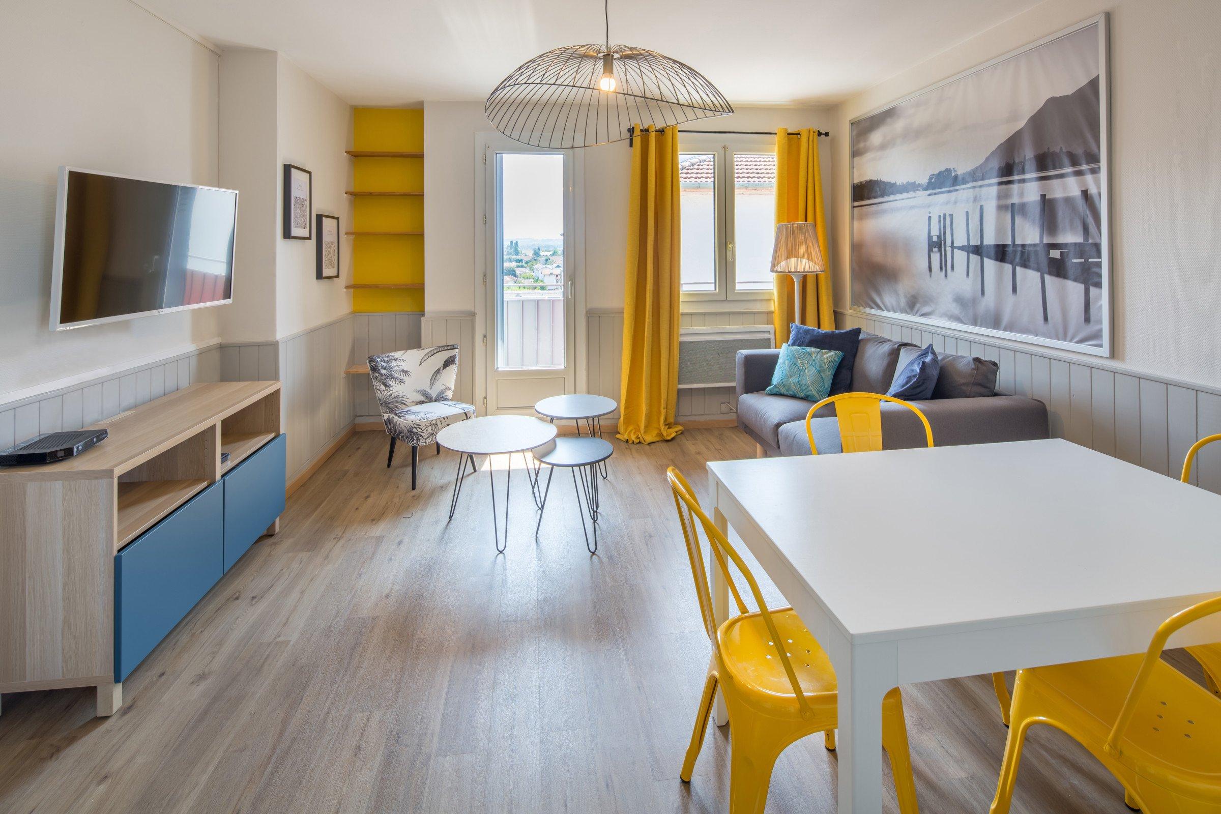 Aménagement d'un appartement pour une colocation Tarbes